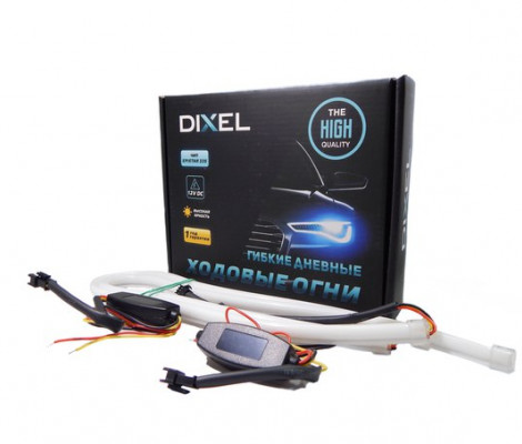 DXL Flexible гибкие светодиодные ленты - 60 СМ. Красный 7W
