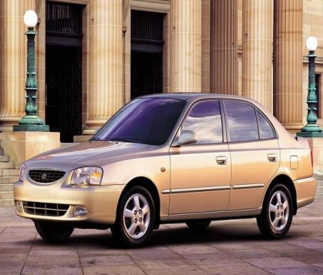 Съемная тонировка Hyundai Accent