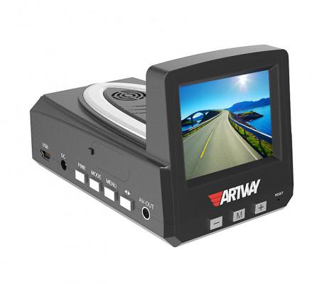видеорегистратор с антирадаром и GPS Artway MD-101