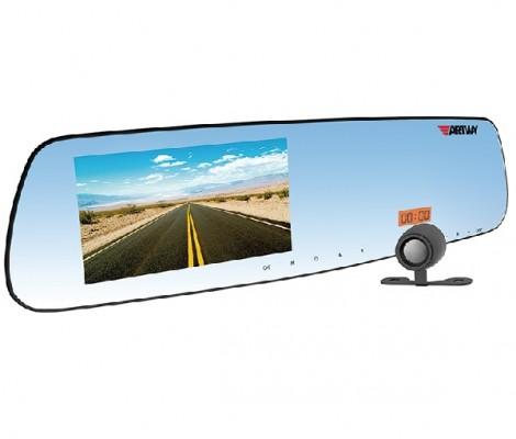 видеорегистратор с антирадаром и GPS в форме зеркала 5 в 1 Artway MD-160