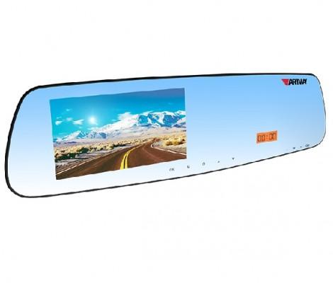 видеорегистратор с антирадаром и GPS в форме зеркала 3 в 1 Artway MD-161