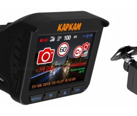 видеорегистратор с радаром и GPS Каркам Комбо 3