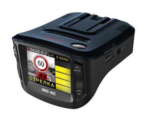 видеорегисратор c радаром и GPS информатором Sho-Me Combo №1 A7