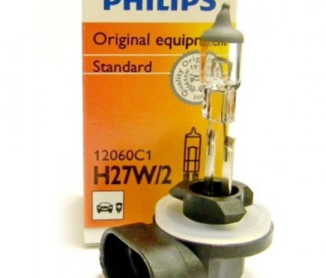 Галогеновая лампа Philips Vision H27/2