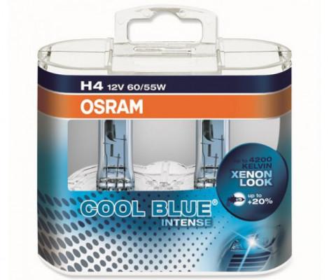Галогеновые лампы Osram Cool Blue Intense H4