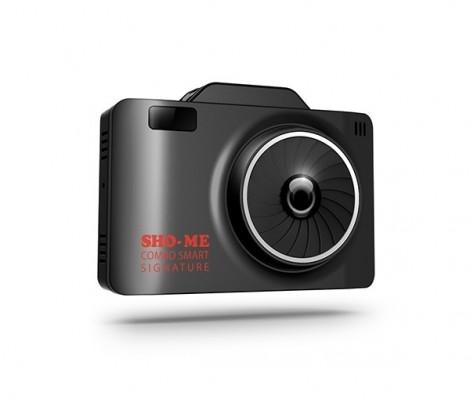 видеорегистратор с сигнатурным антирадаром Sho-Me Combo SMART Signature c GPS/GLONASS