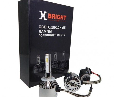 СВЕТОДИОДНЫЕ ЛАМПЫ X-BRIGHT C9+2 CSP H27 5000K