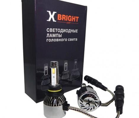 СВЕТОДИОДНЫЕ ЛАМПЫ X-BRIGHT C9+2 CSP HB4 5000K