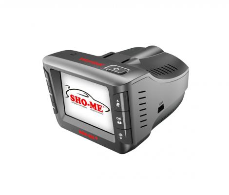 видеорегисратор c радаром и GPS информатором SHO-Me Combo Wombat