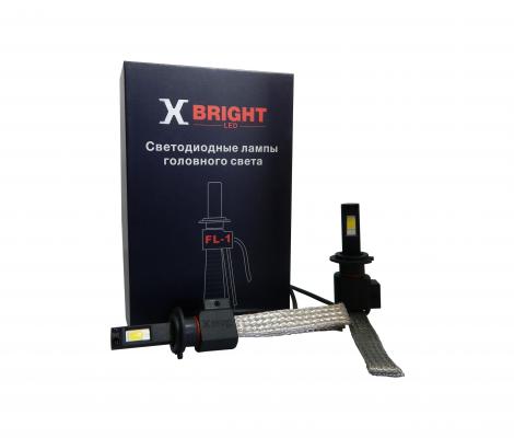 Светодиодные Лампы X-BRIGHT FL1 COB H7