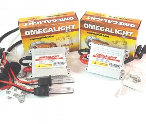 Комплект ксенона Omegalight Slim dc с лампами металл