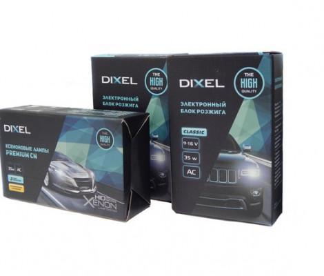 Комплект ксенонового света Dixel Classic 35W AC c лампами керамика