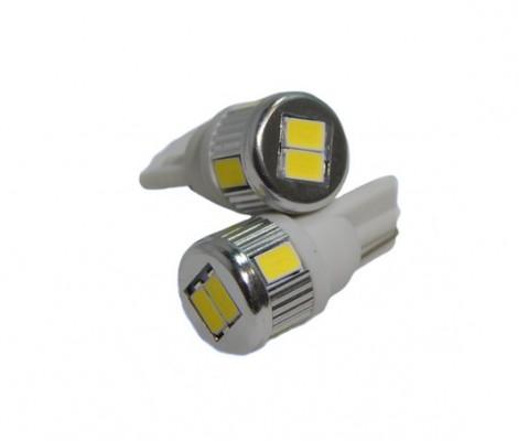 Лампа светодиодная PREMIUM DXL (W5W) T10-6 SMD(5630) 5000К 9-32V