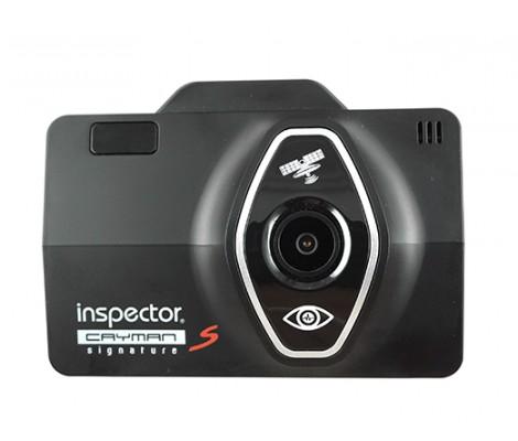 видеорегистратор с сигнатурным антирадаром и GPS Inspector Cayman S