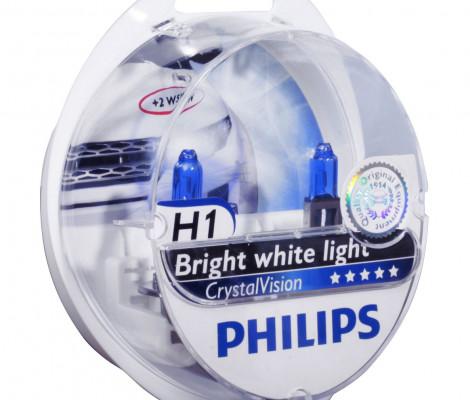 Галогенная лампа Philips CrystalVision H1