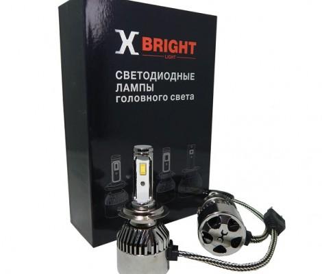 СВЕТОДИОДНЫЕ ЛАМПЫ X-BRIGHT C9+2 CSP H7 5000K