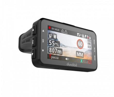 видеорегистратор с антирадаром и GPS Dunobil Assist