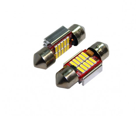 Лампа светодиодная PREMIUM DXL-C5W-10SMD(4014) 31 MM 2CAN-Bus Белый 12V