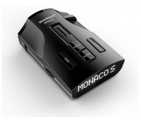 сигнатурный радар-детектор с GPS SilverStone F1 Monaco S