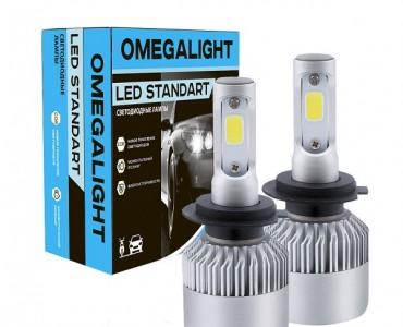 Светодиодные лампы Omega Light LED Standart H11
