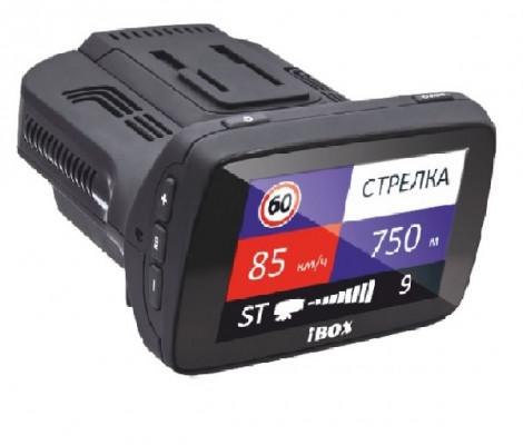 видеорегистратор с антирадаром и GPS iBOX Combo F5+ (PLUS)
