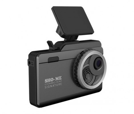 видеорегистратор с антирадаром и GPS Sho-Me Combo Slim Signature
