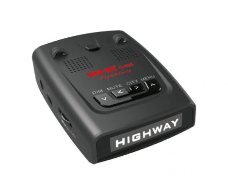 сигнатурный радар-детектор с GPS Sho-Me G-800 Signature