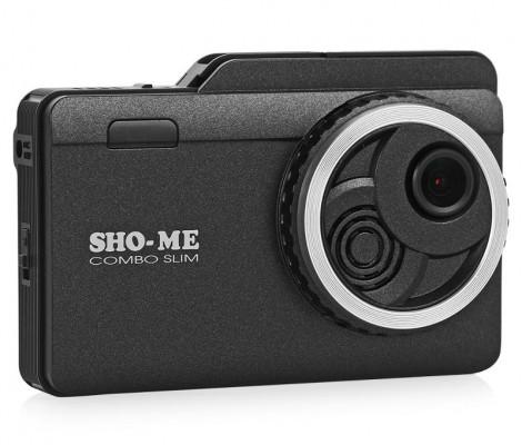видеорегистратор с радаром и GPS Sho-Me Combo Slim