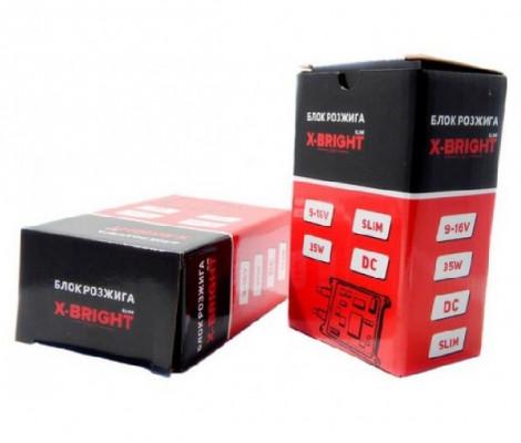 Комплект ксенона X-Bright DC с лампами металл