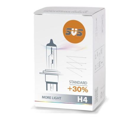 Галогенная лампа SVS Standard +30% H4 55W