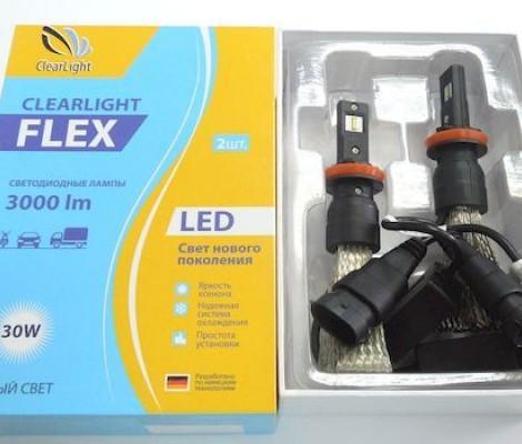 Светодиодные лампы Clearlight H11