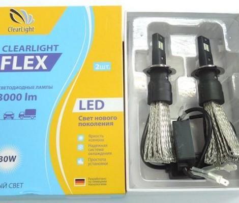 Светодиодные лампы Clearlight H7