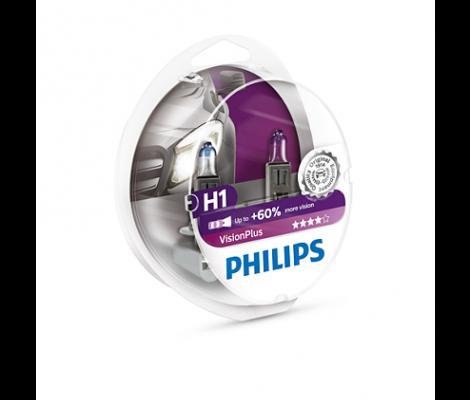 Галогеновые лампы Philips Vision Plus H1