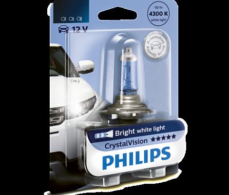 Галогенная лампа Philips CrystalVision H3 4300K