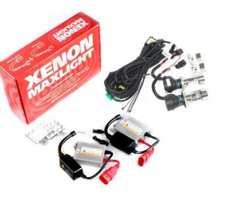 Комплект биксенона Maxlight Slim AC H4