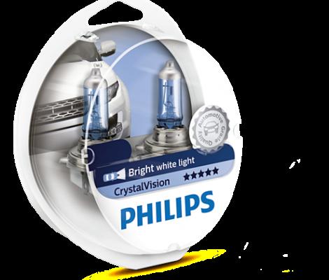 Галогенные лампы Philips Crystal Vision H11 4300K