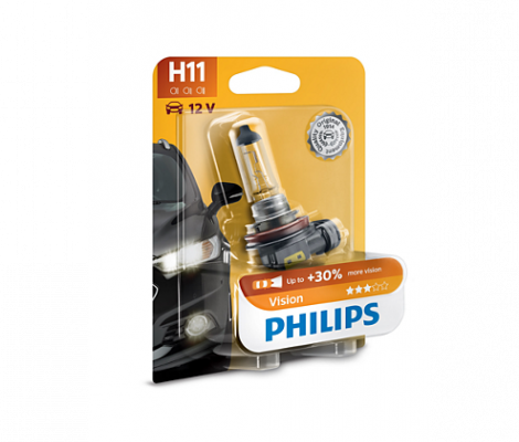 Галогеновые лампы Philips Vision Н11
