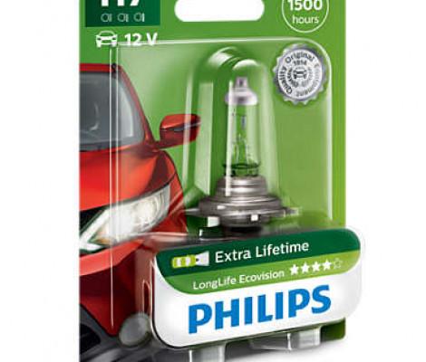 H7 Галогеновые лампы Philips LongLife Eco Vision