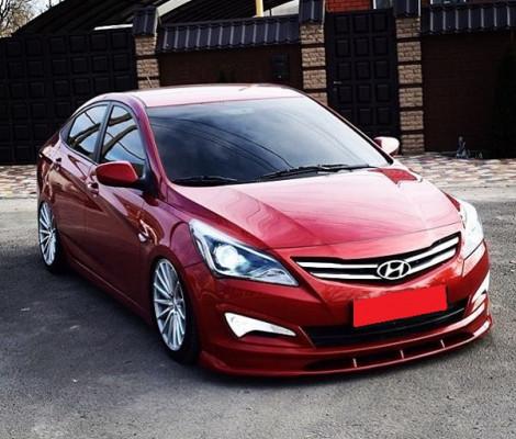 Съемная тонировка Hyundai Solaris