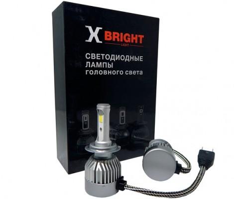 Светодиодные лампы X-Bright C9+3 WF H7 5000K