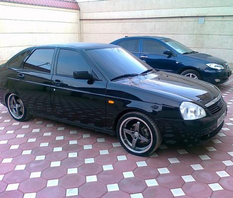 Съемная тонировка Lada Priora Coupe