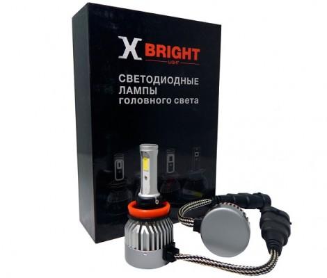 Светодиодные лампы X-Bright C9+3 WF H11 5000K