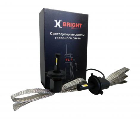 Светодиодные Лампы X-BRIGHT FL1 COB H4