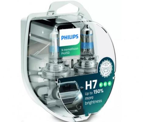 Лампа галогенная PHILIPS X-tremeVision Pro150