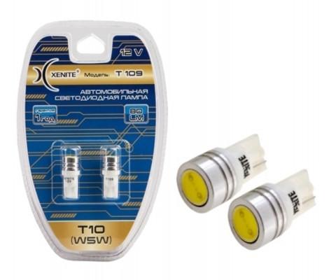 Лампы светодиодные XENITE T 109 W5W 5000K 12V