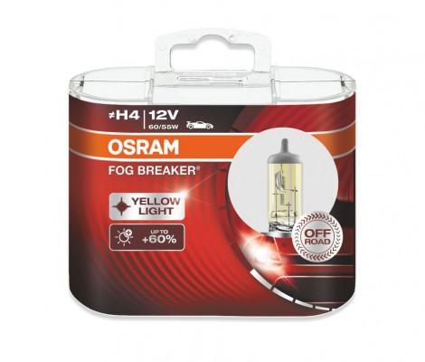 Галогеновые лампы Osram H4 Fog Breaker (+60%) - 62193FBR