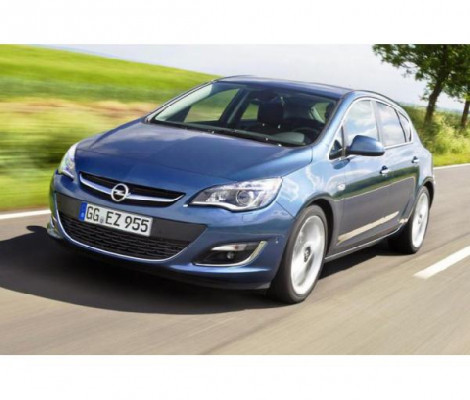 Съемная тонировка Opel Astra J