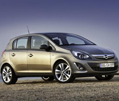 Съемная тонировка Opel Corsa 5D