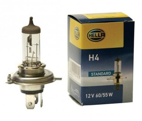 Галогеновые лампы Hella H4 55W