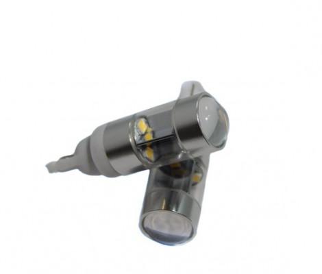 Лампа светодиодная PREMIUM DXL (W5W) T10-1HP-6W REFLECTOR 5000К 10-30VDC